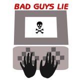 ложь плохих парней Стоковая Фотография RF