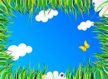 ложь травы Стоковое Изображение