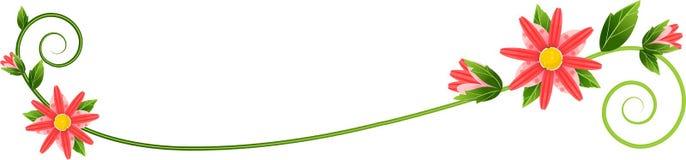 лоза flourish Стоковые Изображения