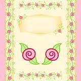 лозы сада розовые стоковое изображение