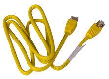 локальные сети кабеля стоковая фотография rf