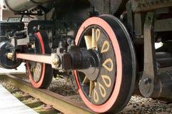 локомотивное колесо Стоковые Фото