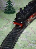 локомотивное ukra пара западное Стоковые Изображения RF