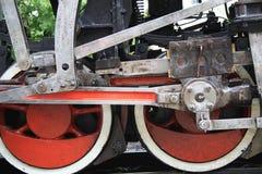 локомотивные колеса Стоковые Фото