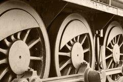 локомотивные колеса Стоковые Изображения