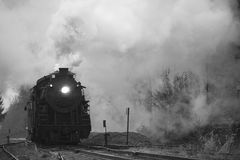 локомотивный пар Стоковые Фотографии RF