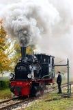 локомотивный пар Стоковое Изображение
