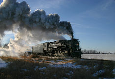 локомотивный пар стоковое фото