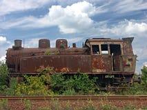 локомотивный ржавый пар Стоковое фото RF