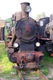 локомотивный старый пар Стоковая Фотография