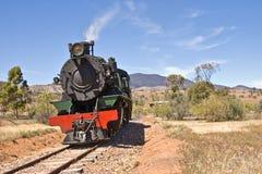 локомотивный старый поезд пара стоковая фотография rf