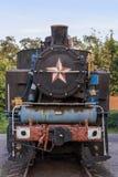 локомотивный старый ржавый пар Стоковая Фотография RF