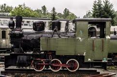 Локомотив пара, железная дорога стоковое изображение rf