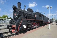 Локомотив пара Er 766-11 Стоковое Изображение RF