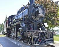 Локомотив поезда пара в Кингстоне Стоковое Изображение RF