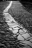 Ломаный путь Стоковое фото RF