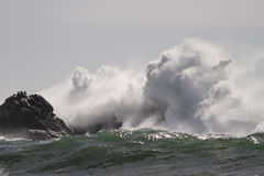 Ломать бурный выплеск волн Стоковое Изображение RF