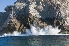 ломать трясет волны Стоковые Изображения