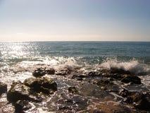 ломать трясет волны Стоковая Фотография