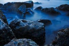 ломать трясет волны Стоковая Фотография RF