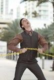 ломать цепь бизнесмена Стоковое Изображение RF