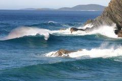 ломая волна Стоковое Изображение