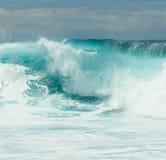 Ломая волна Стоковые Фотографии RF