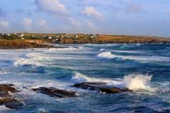 ломая волны Стоковое Изображение RF