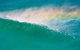Ломая волна Кейптаун Стоковые Изображения