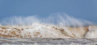 Ломая волна 02 Стоковые Фото
