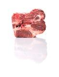 Ломоть мяса замерли отрезком, который говядины i Стоковое Изображение RF
