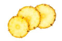 ломтики ананаса ananas Стоковая Фотография