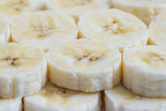 Ломтики банана Стоковые Изображения