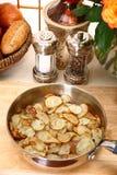 ломтики картошки стоковое изображение rf