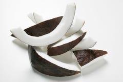 ломтики кокоса Стоковое фото RF