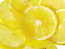 ломтики лимона Стоковое фото RF