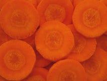 ломтики моркови свежие органические Стоковое фото RF