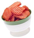 ломтики моркови шара стоковое фото rf
