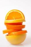 ломтики померанца грейпфрута Стоковые Изображения