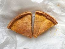 ломтики 2 торта Стоковое Изображение