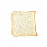 Ломтики хлеба изолированные на белой предпосылке стоковая фотография rf