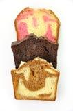 ломтики хлебца торта стоковые фотографии rf