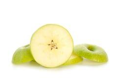 ломтики яблока Стоковое Изображение
