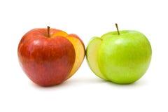 ломтики яблок Стоковая Фотография RF