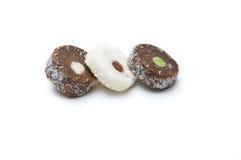 ломтики 3 штанги кокосов Стоковые Фото