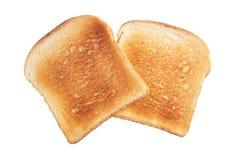 Ломтики toasted хлеба Стоковое фото RF
