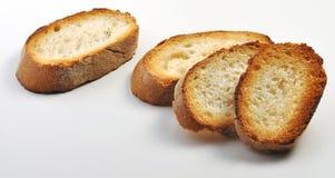 Ломтики toasted хлеба Стоковое Изображение