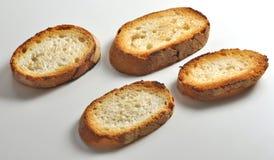 Ломтики toasted хлеба Стоковые Изображения RF