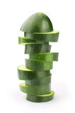 Ломтики zucchini Стоковое Изображение