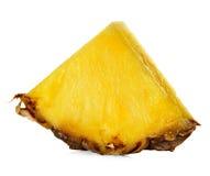 Ломтик ананаса изолированный на белизне Стоковые Фотографии RF